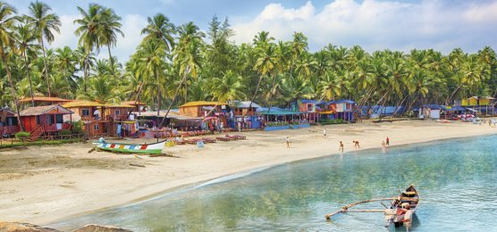 Traumstrand in Goa